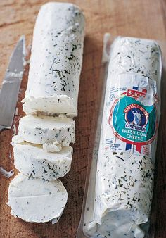 Garlic and herb goat cheese