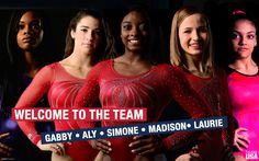 Introducing the Women's Olympic Gymnastics Team 2016 - Rio http://ift.tt/2akgrGw Love #sport follow #sports on @cutephonecases
