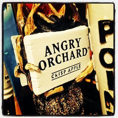#crisp #cold #delicious @angryorchard #drinklocal