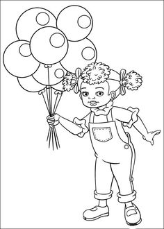 noddy coloring picture partydjie idees pinterest