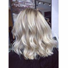Image result for ash blonde foils
