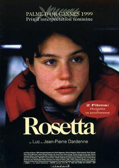 """Rosetta - Jean-Pierre Dardenne, Luc Dardenne 1999 - VH08786 -- """"Chaque jour Rosetta part à la recherche d'un travail, d'une place qu'elle trouve, qu'elle perd, qu'elle retrouve, qu'on lui prend, qu'elle reprend, obsédée par la peur de disparaître, par la honte d'être une déplacée."""" Image: ecranlarge.com"""