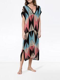 A Peace Treaty Geometric Knit Dress #knit #dresses #summerstyle #affiliate