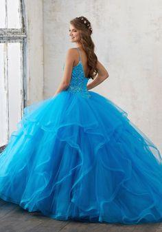 Mori Lee Valencia Quinceanera Dress 60017