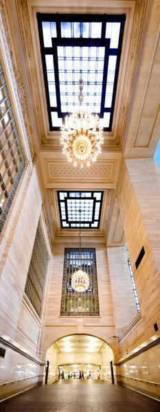 Interior of Grand Central Station in New York City. While Grand Central Terminal is one of the nations most historical landmarks, it has remained the busiest train station in the country. (V)