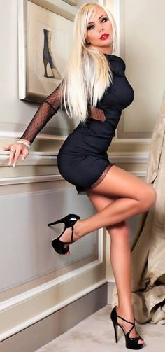 highheelangels:  Love it to scroll down to enjoy her curves long legs!!! ;-)The most beautiful thing on Earth:Pretty Girls wearing High Heels and LingerieFollow for more breathtaking beautys:http://highheelangels.tumblr.com/