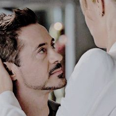 "Tony Stark and Pepper Potts, ""Iron Man 3"""