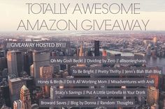 *Hot Giveaway!* Enter to win a $750 Amazon Gift Card, wow!