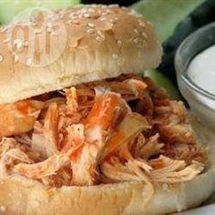 Buffalo Hähnchen Sandwich @ de.allrecipes.com