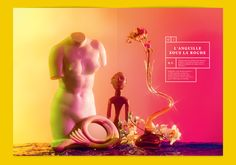 L'ADN n°11 - Violaine et Jérémy Editorial Layout, Editorial Design, Big Fernand, Identity, Francois Truffaut, Creative Studio, Art Direction, Studios, Typography
