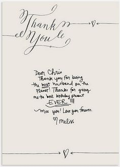Free printable 'Thank You' cards.