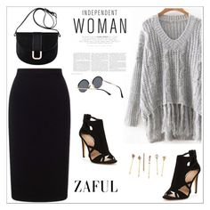 """Zaful 30"" by sabinakopic ❤ liked on Polyvore featuring Roland Mouret and A.P.C."