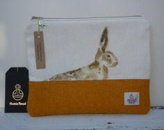 Harris Tweed & Hare Handmade Makeup Cosmetic Bag Purse, Designer Fabric, Mothers Day, Scottish Gift - Edit Listing - Etsy