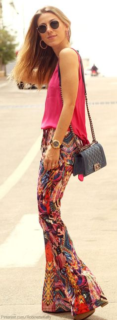 Street Style | Color: Bright