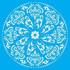 Stencil Litoarte 42,2x32 STW-038 Mandala - PalacioDaArte Mandalas Painting, Mandalas Drawing, Gourmet Dog Treats, Healthy Dog Treats, Design Tattoo, Veggie Dogs, Best Homemade Dog Food, Small Dogs, Dog Food Recipes