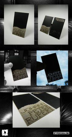 JPR laser cut card tests