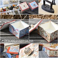 Decorative Boxes, Container, Little Boxes, Custom Cars, Papercraft, Boxes, Decorative Storage Boxes