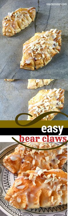 Easy Bear Claws (omitted cream cheese, DELICIOUS! -LA)