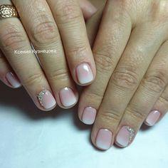 Autumn gradient nails, Autumn nails, Autumn ombre nails, Color transition nails, Elegant nails, Fall nail ideas, Fall nails 2016, Ideas of gradient nails