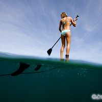 more paddle boarding in my life