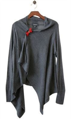 Perfect Little Gift Cardi, Charcoal
