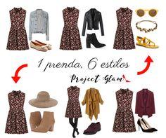 1 prenda, 6 estilos: vestido estampado de flores