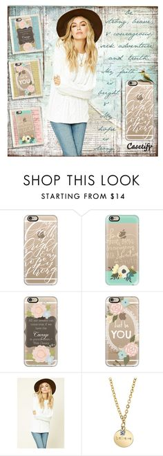 """""""Inspiration In The Palm Of Your Hand"""" by jennie-bo-bennie ❤ liked on Polyvore featuring Casetify, Forever 21, 1928, iphone, inspiration and inspirationalquote"""