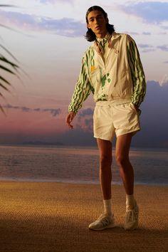 Casablanca, Tennis Fashion, Men Fashion Show, Male Fashion, Fashion Trends, Vogue Paris, Safari Jacket, Mens Trends, Tennis Clothes