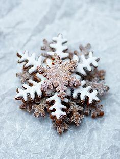 Snowflake cookies Winter Holidays, Winter Christmas, Christmas Love, Happy Holidays, Rustic Christmas, Beautiful Christmas, Merry Little Christmas, Christmas Goodies, Christmas Desserts