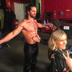 Seth Rollins (found on tumblr)