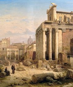 Albert Rieger: Forum Romanum