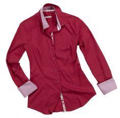 Camicia a doppia tinta rosso/rosa.   Seguici anche su                           www.redisrappresentanze.it