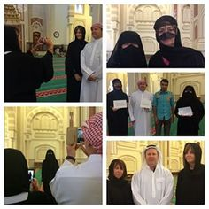 Al Noor mosque visit today,  a returning guest Annette an expatriate brought her family from #Australia to meet us. Suzy Micheal and Annette. #Exploring #Sharjah  A gift from the #Katateeb session held at Al Noor mosque was presented. #Names written in #calligraphy #beautiful #writing #holiday #souvenir #smiles #laughter #sharing #Ramadan #learning #culture @islamic_affairs @sharjah.c.art @dept_culture