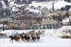 Poster White Turf   Pferderennen   St.Moritz