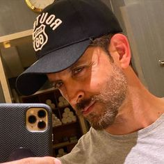 Hrithik Roshan basks in the glow of sunlight while clicking a selfie; Test out the PHOTO Bollywood Songs, Bollywood Actors, Hrithik Roshan Hairstyle, Rishi Kapoor, Party Songs, Happy Song, Tiger Shroff, Instagram Handle