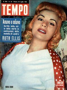 Movie actress Mara Berni (28th July 1955). In the 1960s, Mara Berni was also TV presenter and actress.