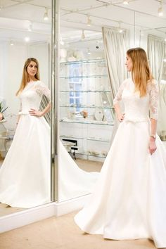 I Asked My Fiancé, Mom and Bridesmaid to Choose Their Dream Wedding Dress for Me