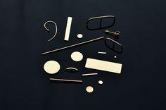 Long Plate Earring (Kathleen Whitaker) - SOURCE objects