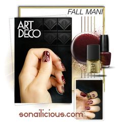 """Fall Mani"" by luckied99 ❤ liked on Polyvore featuring beauty, Jin Soon, OPI and NARS Cosmetics"