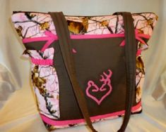 Pink real tree deer camo or choose another camo by designsbykeri4u, $65.99