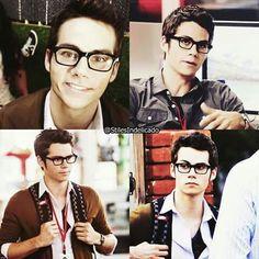 The glasses kill me😍 Dylan O'brien, Teen Wolf Dylan, O Brian, Derek Hale, My Little Baby, Music Film, Dream Guy, Haircuts For Men, Cute Boys