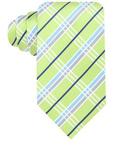 Geoffrey Beene Tie, Bright Plaid - Ties - Men - Macy's