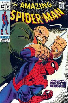 the Amazing Spider-Man (vol.1) #69 by John Romita #Kingpin