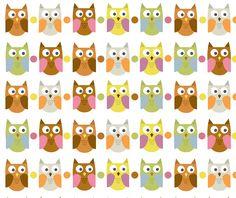 papel decorado buhos paper owl scrap free print