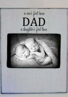 Dad Frame A son's first hero a daugther's by DeSiLuCoLLecTioN, $45.00