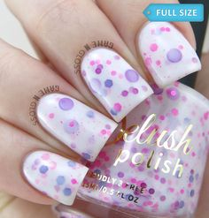 Delush Polish A Peony For Your Thoughts ✿⊱╮