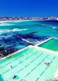 Bondi Beach rock pools