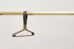 """Şu @Behance projesine göz atın: """"Leather Coat Hangers"""" https://www.behance.net/gallery/56943411/Leather-Coat-Hangers"""