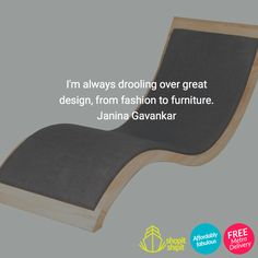 I'm always drooling over great design, from fashion to furniture. Janina Gavankar