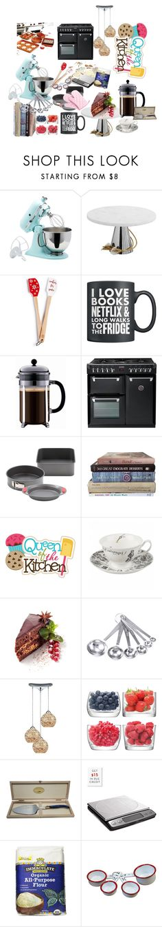 """""""My favourite hobby: the joy of baking"""" by ha-at ❤ liked on Polyvore featuring interior, interiors, interior design, home, home decor, interior decorating, KitchenAid, Michael Aram, Martha Stewart and Prestige"""